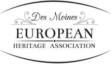 Des Moines European Heritage Association logo