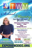 Dr. Taketa Williams School of Ministry