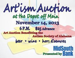 The Art'ism Auction at the Depot