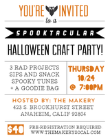 Spooktacular Craft Party