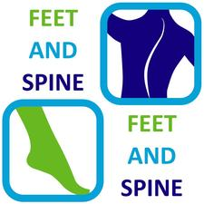 George Ampat from Feet and Spine logo