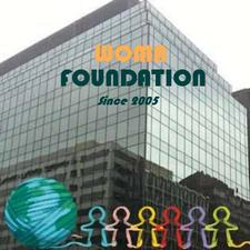 """WOMA FOUNDATION a Division of WOMA CORP """"World Organization for Medical Aid""""   logo"""