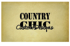 Country Chic Custom Designs logo