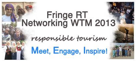 WTM Fringe RT Networking  #rtnet2013 - sponsored by...