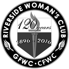 The Riverside Woman's Club (RWC) logo
