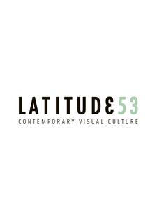 Latitude 53 Contemporary Visual Culture logo