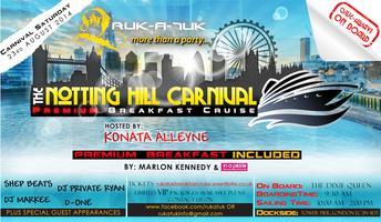 The Notting Hill Carnival Premium Breakfast Cruise 2014