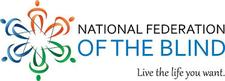 National Federation of the Blind- Mobile Chapter logo