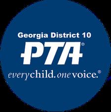 Georgia PTA District 10 logo