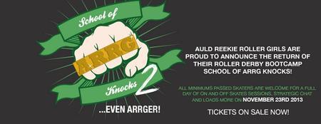 School of ARRG Knocks 2 - BOOTCAMP