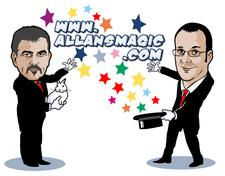 Allans Magic  logo