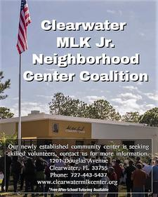 The Clearwater MLK Center Coalition  logo