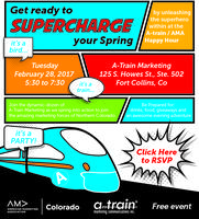 Fort Collins Happy Hour | A-Train Marketing