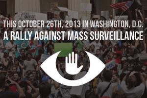 10/26 Rally Against Mass Surveillance - Round Trip Bus...