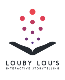 Louby Lou's Interactive Storytelling logo