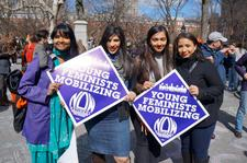 Young Feminists and Allies: National Organization for Women's (NOW) Inaugural Virtual Chapter  logo