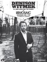 Mosaic Presents Denison Witmer | Jake Lewis & The...