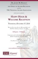 Alumni Happy Hour and Welcome Reception