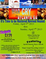 WAR CRY CONFERENCE AND SPIRITUAL FELLOWSHIP RETREAT