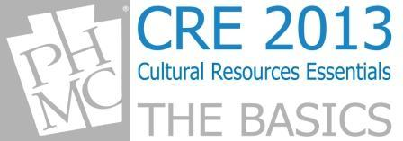 Cultural Resources Essentials - The Basics
