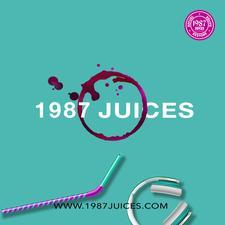1987 Juices (Organic Juice Line) logo