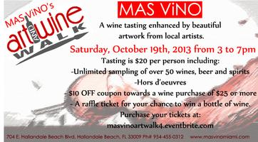 Mas Vino Wine & Art Walk