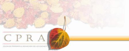 CPRA 2013 Fall Symposium