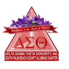 South Palm Beach Alumnae Chapter of Delta Sigma Theta Sorority, Inc logo