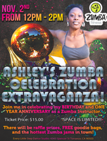 ASHLEY'S ZUMBA CELEBRATION EXTRAVAGANZA!