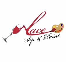 Lace Sip and Paint logo