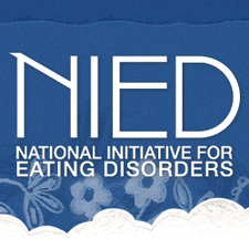 National Initiative for Eating Disorders (NIED) logo