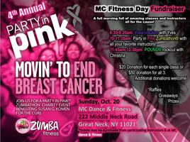 MCDF Fitness Day / Party In Pink Zumbathon® For Breast...