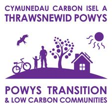 Powys Transition and Low Carbon Communities network logo