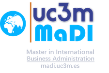 Master in International Business Administration MaDI-UC3M logo