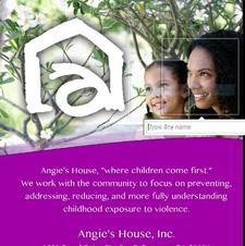 Angie's House Inc. Nonprofit Organization logo