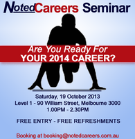NotedCareers Seminar: Are you ready for your 2014...