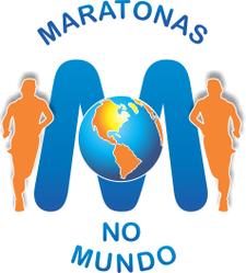 Maratonas no Mundo logo