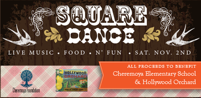 Square Dance to Benefit Cheremoya Elementary & Hollywood...