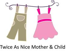 Twice As Nice Mother & Child logo
