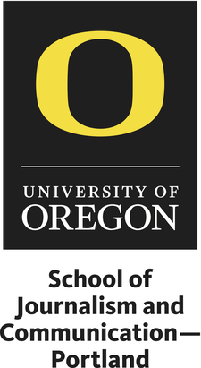 UO School of Journalism and Communication - Portland logo