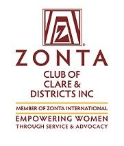 Zonta Club of Clare & Districts Inc logo