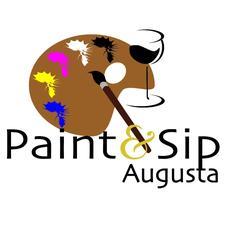 Paint & Sip Augusta logo