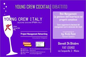 """Young Crew Cocktail - """"Risk Management: la gestione..."""