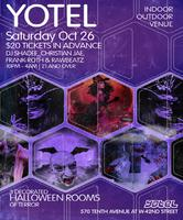Halloween party at yotel - Saturday Oct. 26, 2013