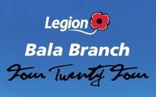 Royal Canadian Legion Bala Branch 424 logo