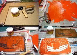 Linoleum Printmaking with Barbara Fryefield