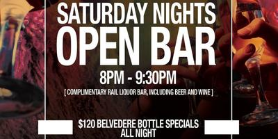 Open Bar Ticket | Gryphon Saturdays | Gryphon Lounge DC