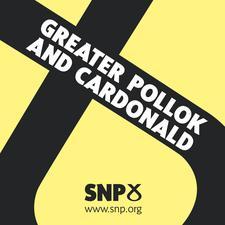 Greater Pollok And Cardonald SNP logo