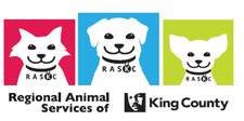 Regional Animal Services of King County (RASKC) logo