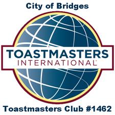 City of Bridges Toastmasters Club logo